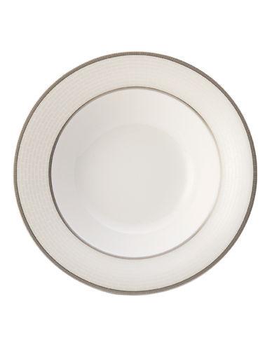 Mikasa Palazzo Vegetable Bowl-WHITE-One Size