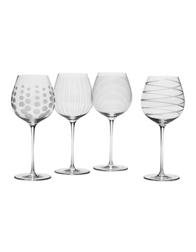 Mikasa Cheers White Wine Glass Set of 4-NO COLOR-One Size