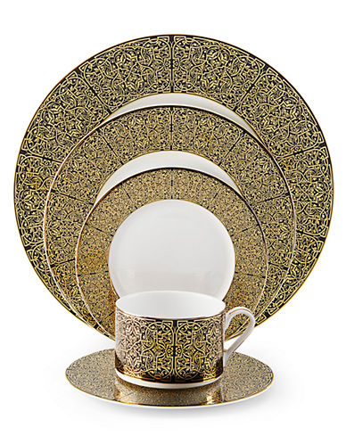 Mikasa Antonia Gold 5 Piece Place Setting-GOLD-One Size