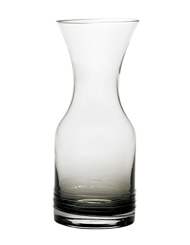 Mikasa Swirl Smoke Water Carafe-GREY-One Size