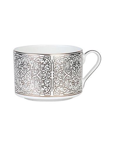 Mikasa Antonia Blanc Tea Cup-WHITE/PLATINUM-One Size