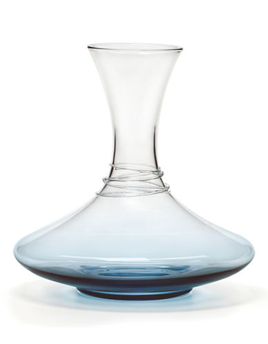 Mikasa Swirl Cobalt Wine Decanter-BLUE-One Size