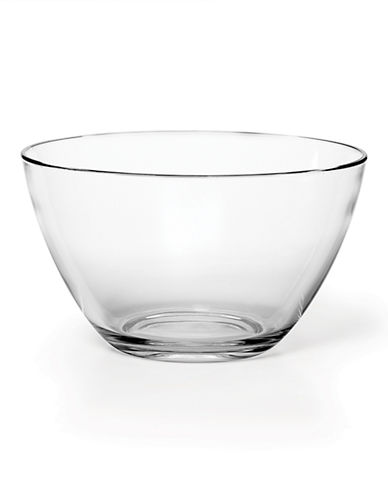 Mikasa Napoli Serving Bowl-CLEAR-One Size