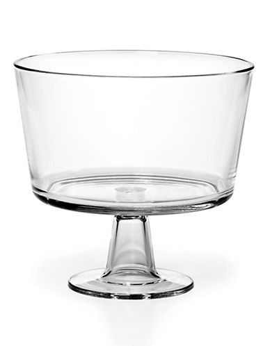 Mikasa Napoli Footed Dessert Bowl-CLEAR-8.5 Inches