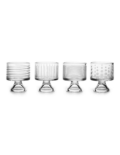 Mikasa Cheers Mini Dessert Bowls Set of 4-CLEAR-One Size 87144970_CLEAR_One Size