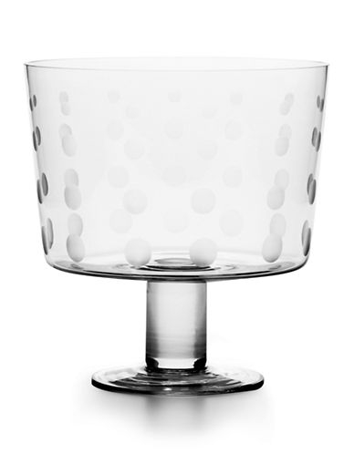Mikasa Cheers Footed Dessert Bowl-CLEAR-One Size
