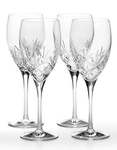 Mikasa Orion Grande Goblet Set of 4-CLEAR-One Size