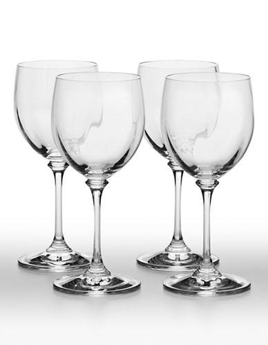 Mikasa Stephanie Wine Glass Set of 4-CLEAR-One Size