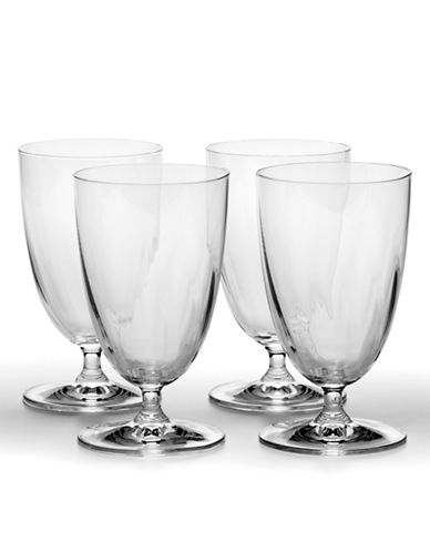 Mikasa Stephanie Ice Beverage Glass Set of 4-CLEAR-One Size