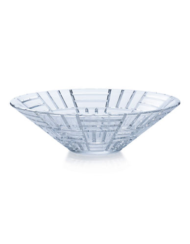 Mikasa Mosaic Glass Centerpiece Bowl-CLEAR-One Size