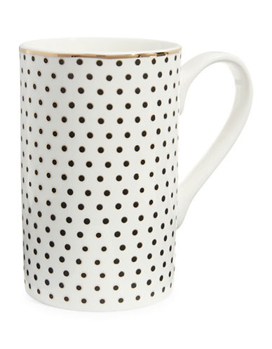 Mikasa Dots Mug-WHITE-One Size