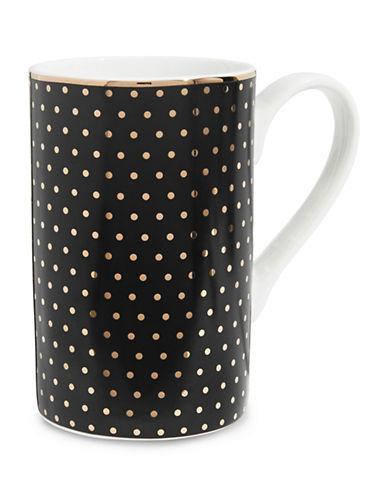 Mikasa Dots Mug-BLACK-One Size