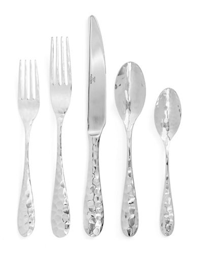 Mikasa Lilah 20-Pieces Stainless Steel Cutlery Set-SILVER-One Size