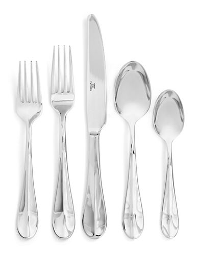 Mikasa 20-Piece Chloe Frost 18/10 Stainless Steel Flatware Set-STAINLESS STEEL-One Size