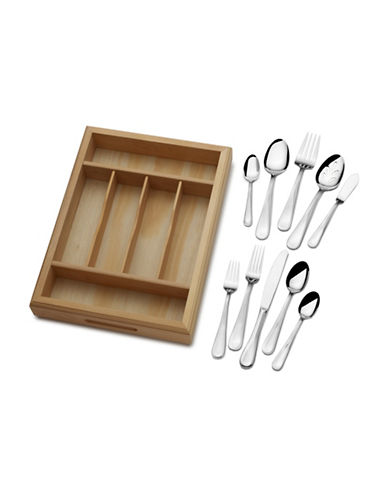 Mikasa 65-Piece Stainless Steel Flatware Set-STAINLESS STEEL-One Size