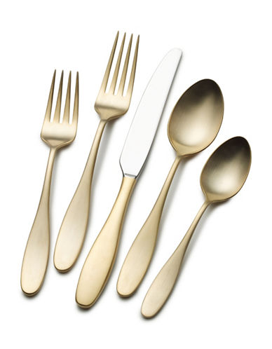 Mikasa Quality Crafted Flatware Set-GOLD-One Size
