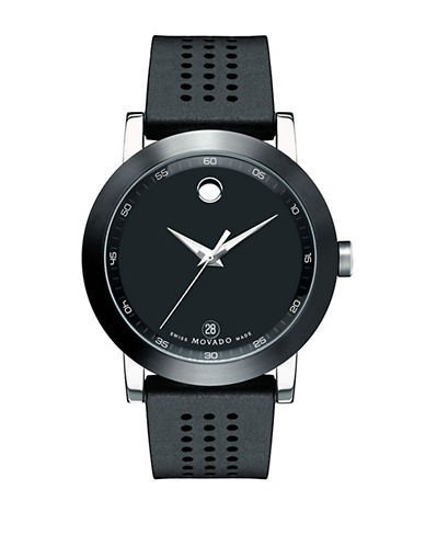 Movado Mens Museum Sport Watch-SILVER-One Size