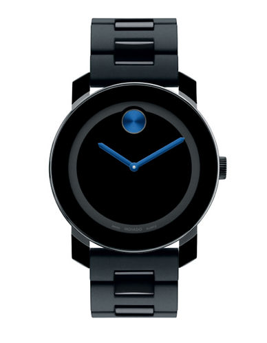 Movado Bold Men's Bold Watch-BLACK-One Size