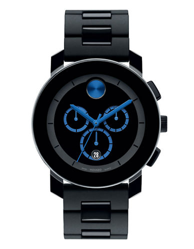 Movado Bold Mens  Bold Watch-BLACK-One Size