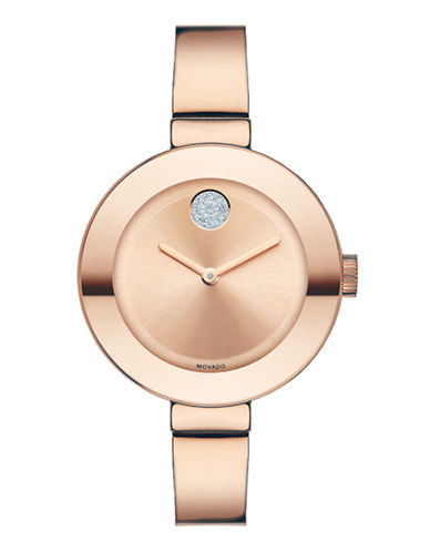 Movado Bold Rose Gold Watch-ROSE GOLD-One Size