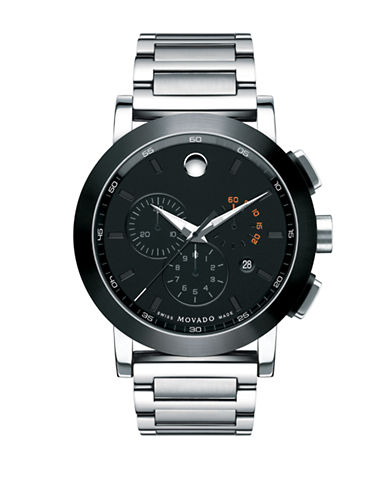 Movado Museum Sport Chrono-SILVER-One Size