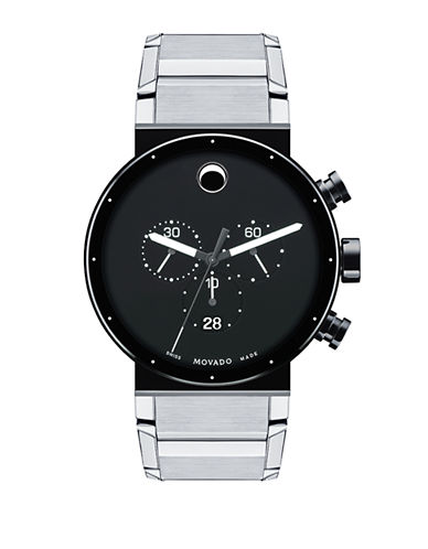 Movado Sapphire Synergy-SILVER-One Size
