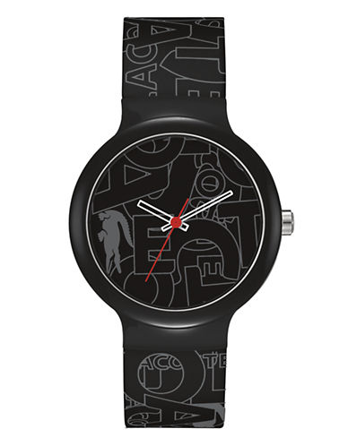 Lacoste Goa Unisex Watch-BLACK-One Size