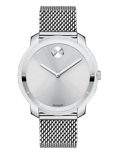 Movado Bold Womens Bold Standard 3600241-SILVER-One Size