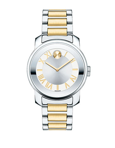 Movado Bold Bold Luxe Two-Tone Stainless Steel Watch-TWO TONE-One Size
