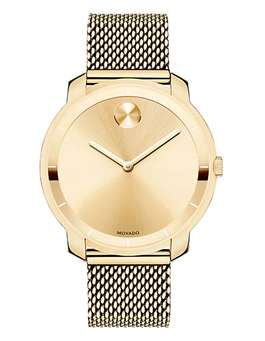 Movado Bold Womens Bold Standard 3600242-GOLD-One Size