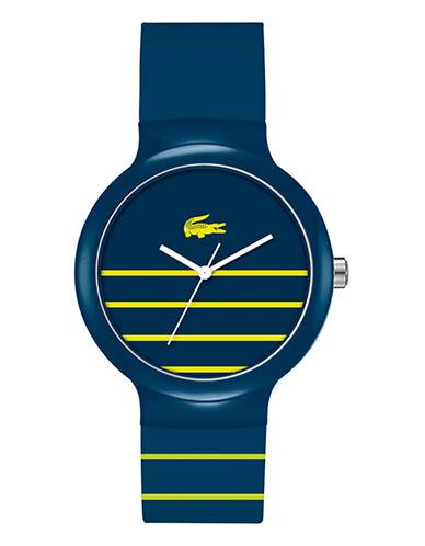 Lacoste Mens Goa Standard 2020089 Watch-BLUE-One Size