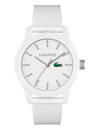 Lacoste Mens Standard 2010762 Watch-WHITE-One Size