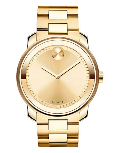 Movado Bold Mens Bold Standard 3600258-GOLD-One Size
