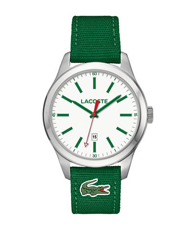 Lacoste Mens Green Analog Auckland Watch-GREEN-One Size