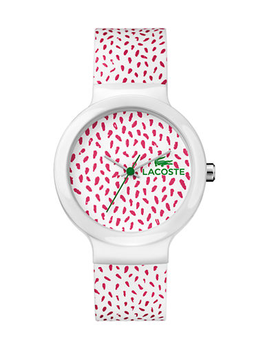 Lacoste Unisex Analog Goa Watch 2020097-PINK-One Size