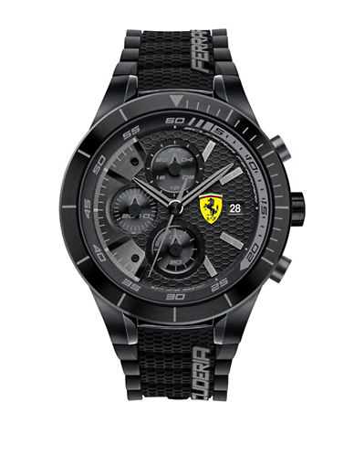 Ferrari RedRev Evo Chronograph Watch 830262-BLACK-One Size