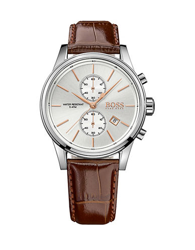 Boss Chronograph Jet Watch-BROWN-One Size