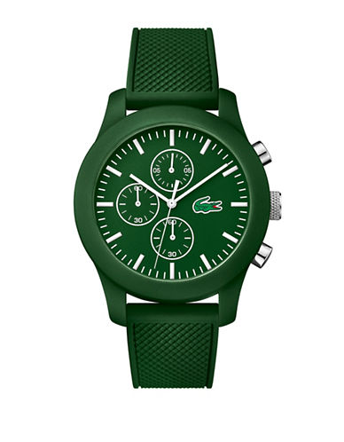 Lacoste Mens Green Chronograph Lacoste 12.12 Watch-GREEN-One Size