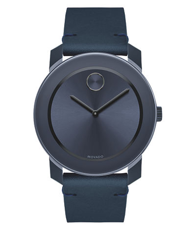 Movado Bold Bold Strap Watch-BLACK-One Size