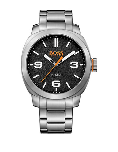 Boss Orange Analog Cape Town Casual Stainless Steel Bracelet Watch-BLACK-One Size