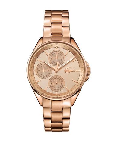 Lacoste Philadelphia Multi-Function Rose Goldtone Bracelet Watch-ROSE GOLD-One Size