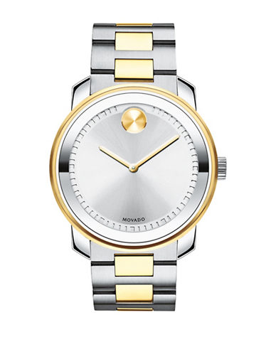 Movado Bold Bold Analog Stainless Steel Bracelet Watch-SILVER-One Size