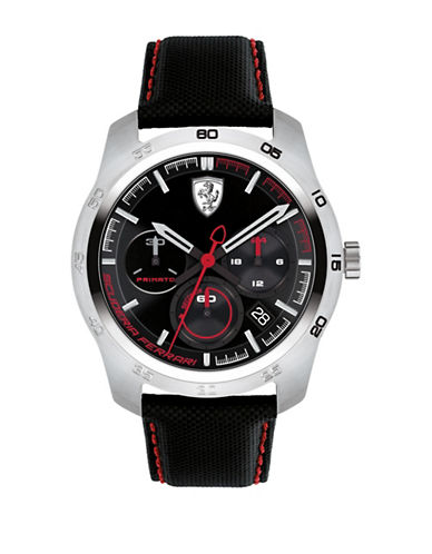 Ferrari Chronograph Function Primato 70th Anniversary Watch-BLACK-One Size