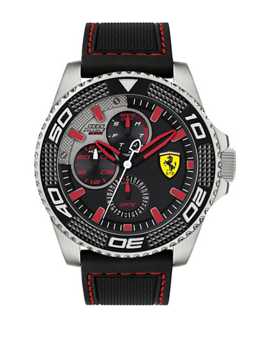 Ferrari Multi Kers Xtreme 830467 Silicone Strap Watch-BLACK-One Size 89677896_BLACK_One Size