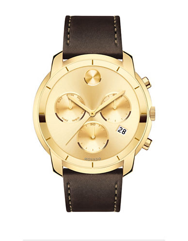 Movado Bold Large Movado Bold Chronograph-GOLD-One Size