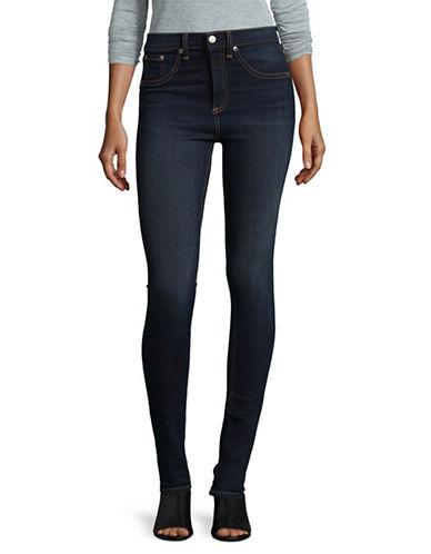 Rag & Bone/Jean Bedford High-Rise Skinny Jeans-BLUE-28