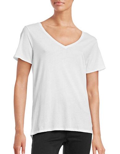 Rag & Bone Base V-Neck T-Shirt-WHITE-X-Small 88640133_WHITE_X-Small