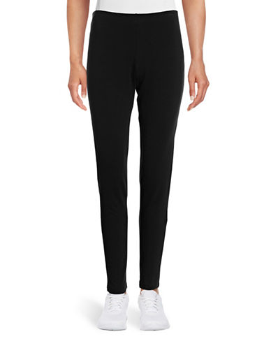 Ruby Rd Solid Leggings-BLACK-Large 88718632_BLACK_Large