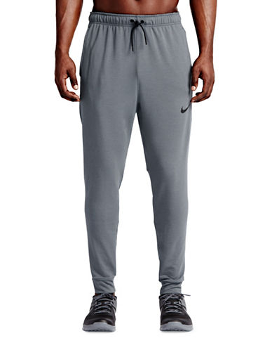 Nike Dri-Fit Fleece Training Pants-GREY-Large 88559000_GREY_Large