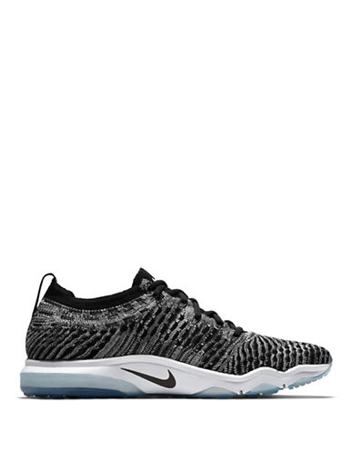 Nike Womens Air Zoom Fearless Flyknit Lux Training Shoes-BLACK-9